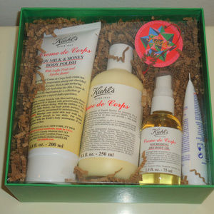 NIB! Kiehl's 4pc Head-To-Toe Hydrator Gift Set